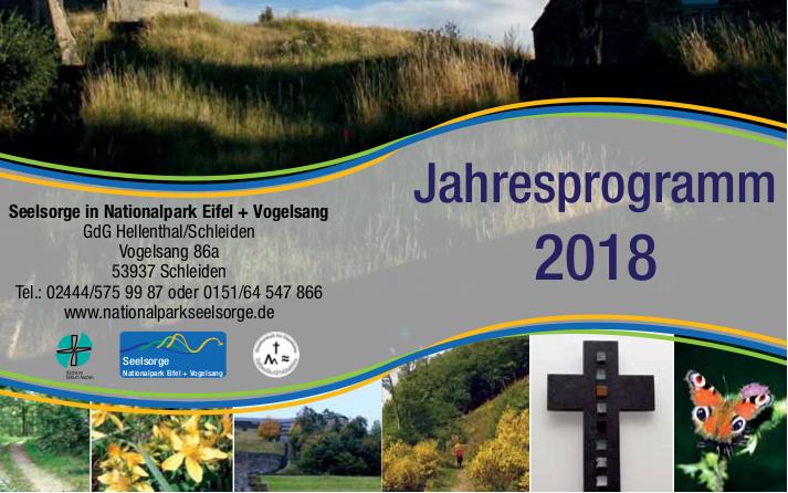 Das Jahresprogramm 2018