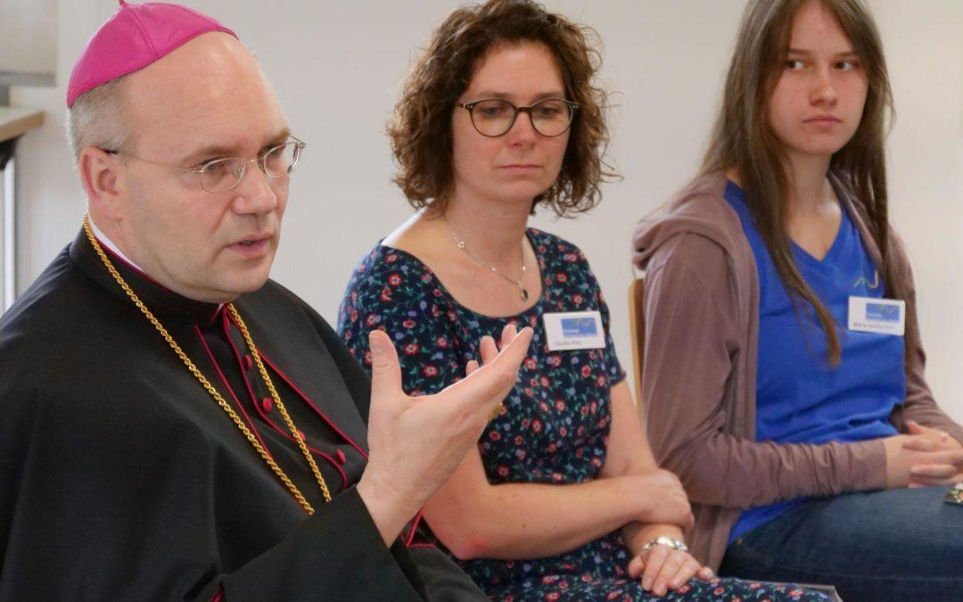Bischof Dr. Helmut Dieser besucht die Nationalparkseelsorge